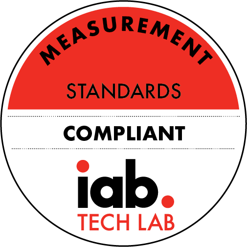 Certified by the IAB Tech Lab